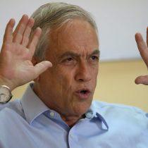 Funa a Piñera en Arica: dos detenidos tras intentar lanzarle agua con la boca
