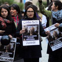Estudiantes y profesores de colegios Matte protestan en medio de huelga por reajuste en los sueldos