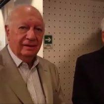 Piñera, Lagos y Matías del Río: improvisada cumbre del partido del orden en las radios de Saieh