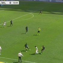 [VIDEO] La extraordinaria jugada de Matías Fernández que sacó aplausos en el derbi de Milan