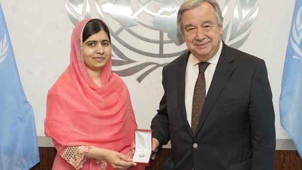 Malala es la nueva Mensajera de la Paz de la ONU, convirtiéndose en la más joven en ostentar el título