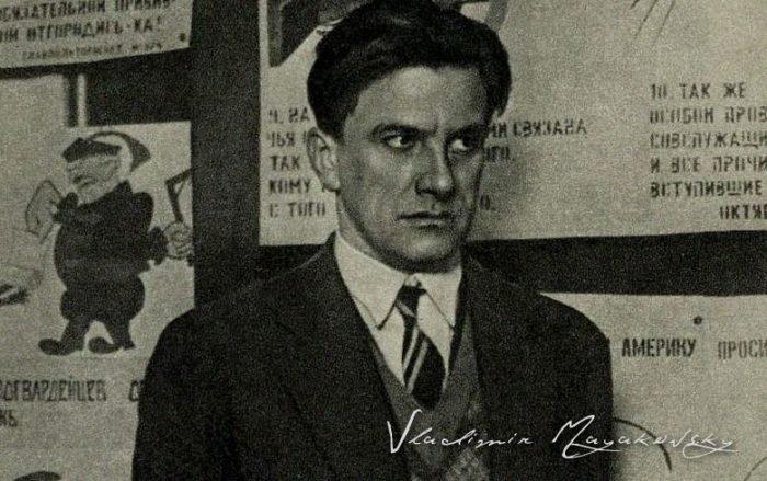 Vladimir Mayakovski, el poeta y recitador popular de la Revolución Rusa