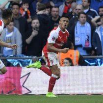[VIDEO] FA Cup: Alexis Sánchez le da la victoria parcial al Arsenal ante el Manchester City de Claudio Bravo