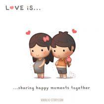 Lo cotidiano del amor en tiernas ilustraciones