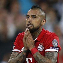 [VIDEO] El grosero error de Arturo Vidal que permitió el primer tanto del Mainz frente al Bayern Munich