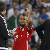 [VIDEO] La polémica expulsión de Arturo Vidal en el duelo entre Real Madrid y Bayern Munich