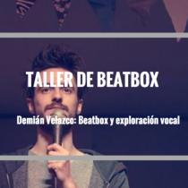 Taller de beatbox y exploración vocal en Centro Nave