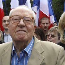 Polémica en Francia por declaraciones homofóbicas de Jean-Marie Le Pen