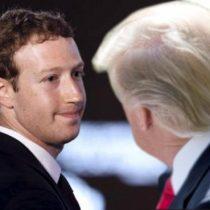 Mark Zuckerberg, Donald Trump y las políticas del poder