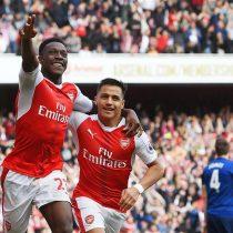 [VIDEO] Arsenal derrota al Manchester United y mantiene viva sus opciones de Champions