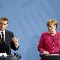 Merkel y Macron prometen fortalecer la Unión Europea