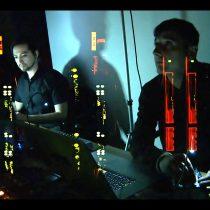 Concierto audiovisual AATS_v17, con Olaf Peña y Daniel Nieto en MAC Parque Forestal