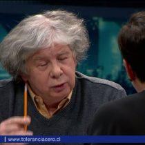 Fernando Villegas increpa a Beatriz Sánchez en Tolerancia Cero: