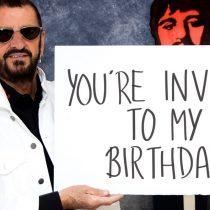 Ringo Starr busca a un fanático que lo acompañe a celebrar su cumpleaños en Los Ángeles