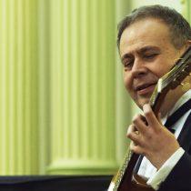 Romilio Orellana en Ciclo de Conciertos de Guitarra Clásica en el Municipal de Santiago
