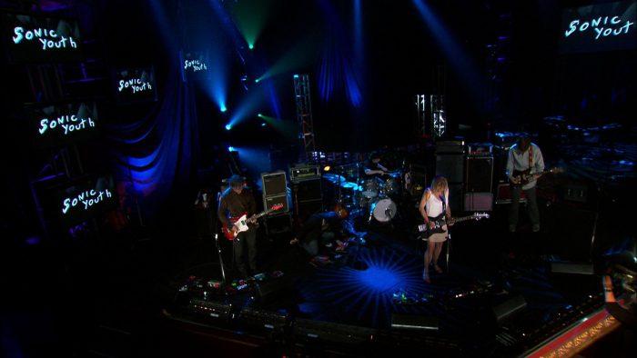 Concierto de Sonic Youth en programa Soundstage