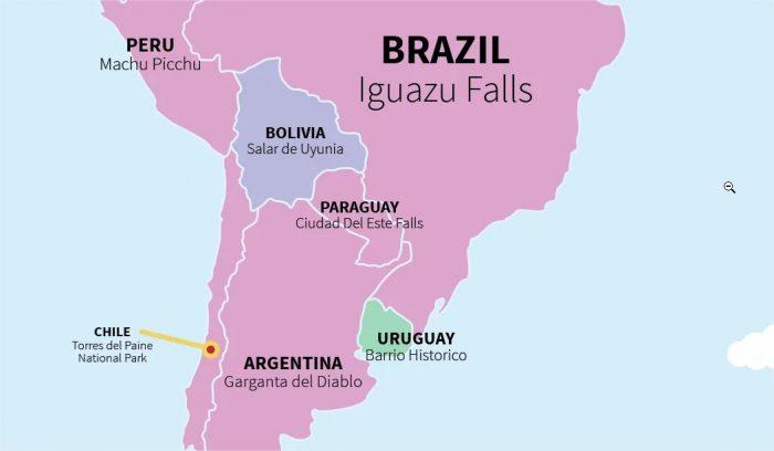Geopolítica sudamericana
