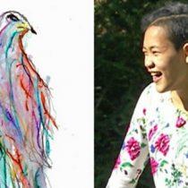 [VIDEO] Las inspiradoras acuarelas de Tjili Grant, una joven sorda y con parálisis cerebral que se comunica pintando