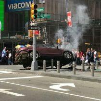 Nueva York: un vehículo a alta velocidad atropella a varias personas y deja un muerto y heridos en Times Square
