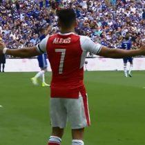 [VIDEO] El polémico gol de Alexis Sánchez con que el Arsenal derrota al Chelsea en la final de la FA Cup