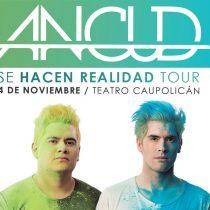 Germán Garmendia se presentará en el Teatro Caupolicán con su banda Ancud