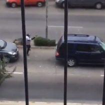 [VIDEOS] Delincuentes protagonizan tiroteo en plena calle de Viña del Mar