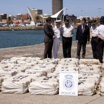 [VIDEO] 24 detenidos en Canarias en barco con cocaína proveniente de Venezuela
