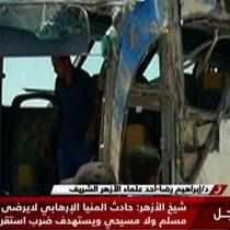 Mueren 28 personas por tiroteo contra autobús de cristianos coptos en Egipto