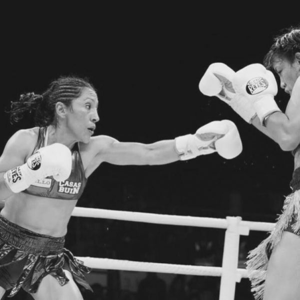Crespita Rodríguez, La primera boxeadora chilena de clase mundial