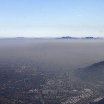 Decretan primera preemergencia ambiental para la región Metropolitana