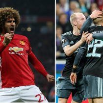 Manchester United y Ajax jugarán la final de la Liga Europea tras eliminar al Celta y el Lyon