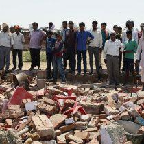 [VIDEO] 23 muertos deja colapso de una pared en medio de un matrimonio en India