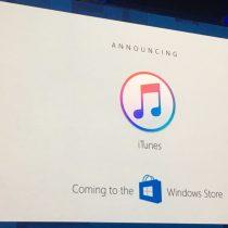 Microsoft anuncia llegada de iTunes a la Windows Store