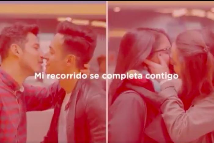 Metro de Santiago y Movilh lanzan inédita campaña contra la homofobia y la transfobia