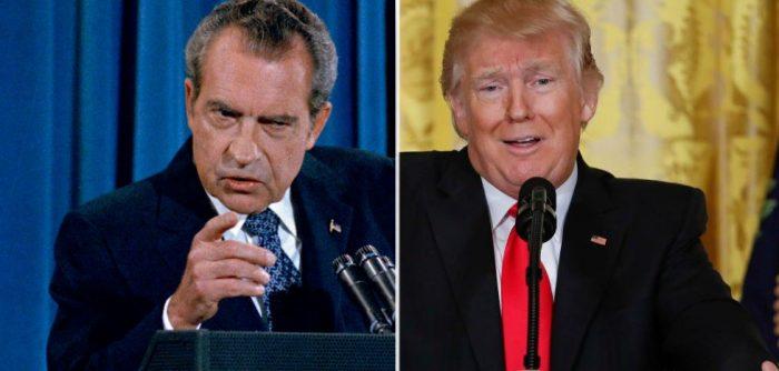 """Cómo lo """"NIXONiano"""" le queda grande a Trump"""