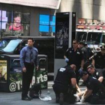 [VIDEO] Un muerto y trece heridos sería la cifra del fatal accidente en New York hasta el momento