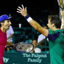 Peralta y Zeballos: la dupla chileno-argentina que sacó de Roland Garros a los actuales campeones de dobles