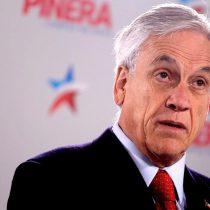 Piñera le teme a la inercia de su sector y ruega que vayan a votar el 2 de julio