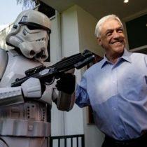Piñera niega estar en el lado oscuro de la fuerza y critica a Bachelet: