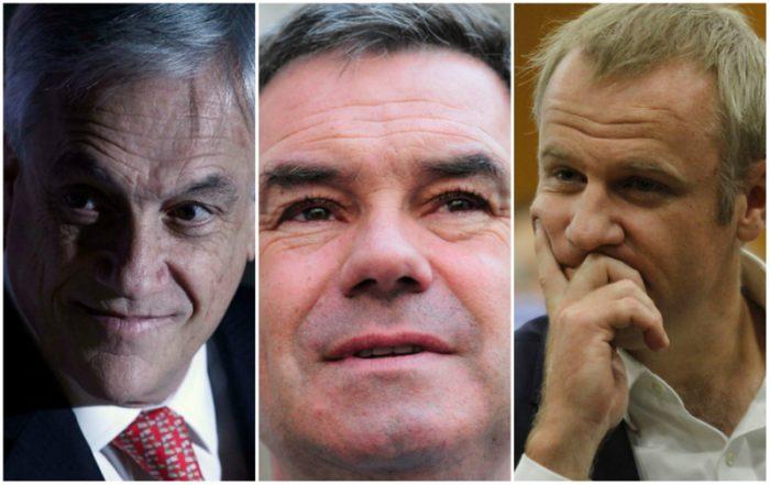 Chile Vamos inscribe candidaturas de Piñera, Ossandón y Kast para las primarias: