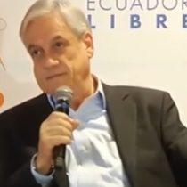 [VIDEO] El día que Sebastián Piñera estaba en contra de los paraísos fiscales y propuso eliminarlos