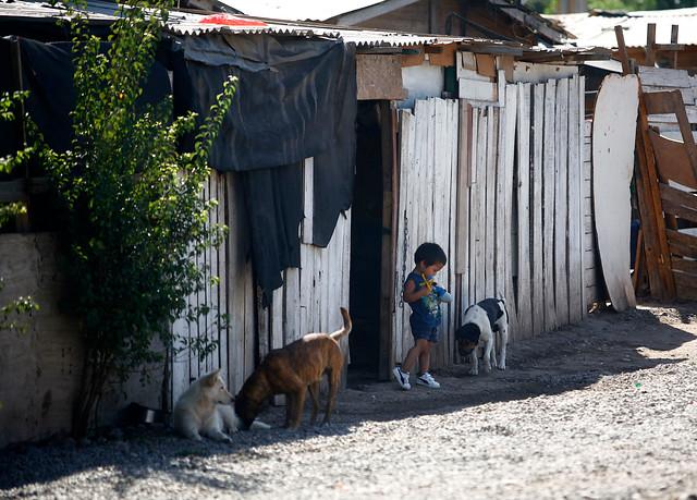 La ceguera frente a la institucionalización de la pobreza