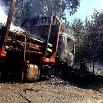 Invocan Ley Antiterrorista por ataques incendiarios en Araucanía