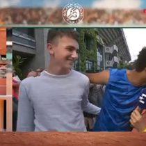 [VIDEO] Expulsan al tenista Maxime Hamou de Roland Garros por propasarse con una periodista