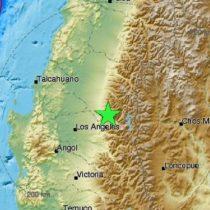 Sismo de 5.7 grados Richter sacude la zona centro sur del país