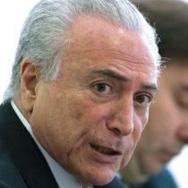 Dan a conocer grabación que demostraría que Temer avaló sobornos en el caso Petrobras