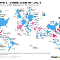 Dónde se ubica Chile entre los países que más provecho le sacan al turismo