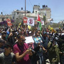 Cien palestinos heridos durante protestas en Cisjordania contra visita de Trump
