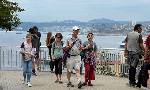 Llegada de turistas a Chile creció un 148% en los últimos diez años
