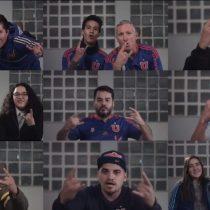 [VIDEO] #NuncaFuimosSolo11: la emotiva arenga de los hinchas de la U como previa a la revancha con Corinthians por la Sudamericana